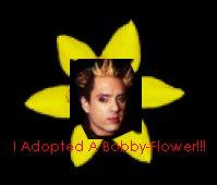 I got a Bobby Flower!!
